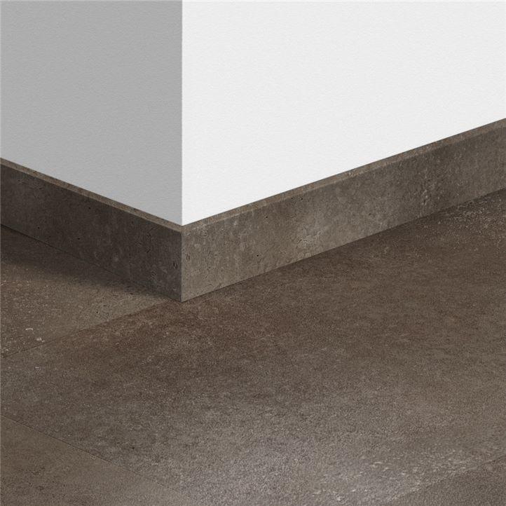 Плинтус для ПВХ-плитки, 12х58х2400мм