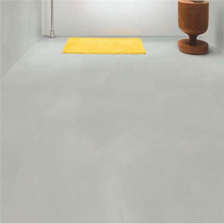 Шлифованный бетон светло-серый